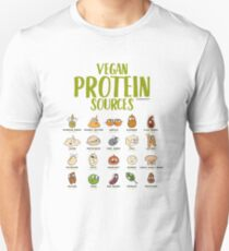 Vegan Protein Sources T-Shirt