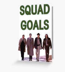 Squad Goals | Twin Peaks | Twin Peaks Collection Greeting Card
