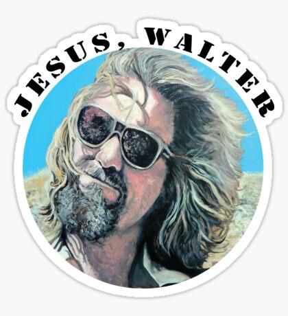 Jesus Walter Sticker