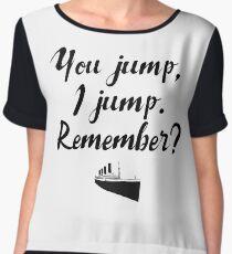 Titanic - You jump, I jump Women's Chiffon Top
