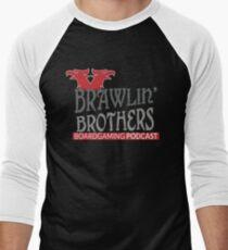Brawling Brothers Design 3 Men's Baseball ¾ T-Shirt