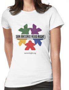 San Antonio Nerd Night - Color Womens Fitted T-Shirt