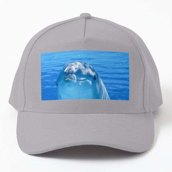 dolphin,animal,sea,ocean,underwater,mammal,marine mammal,marine animal, Baseball Cap