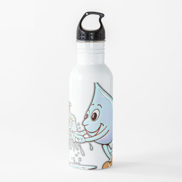 Beautiful Cartoon Classic T-Shirt Water Bottle