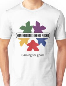 San Antonio Nerd Night - Color Flat (Light) Unisex T-Shirt
