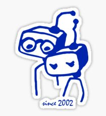 2002 jubilee 15 years marriage Sticker