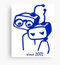 2002 jubilee 15 years marriage Canvas Print