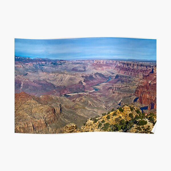 Grand Canyon, From the Watchtower Poster