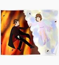 The Handsome Devil and the Innocent Angel Poster
