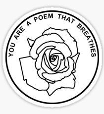 Poem Sticker