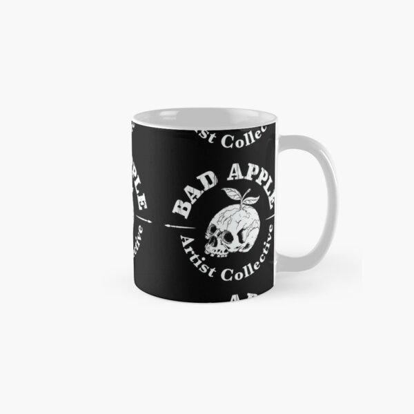 Bad Apple Artist Collective White Logo Classic Mug