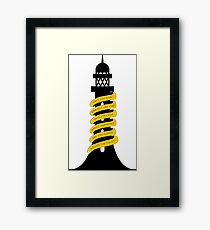 Going Round The Twist Framed Print