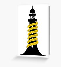 Going Round The Twist Greeting Card