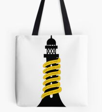 Going Round The Twist Tote Bag
