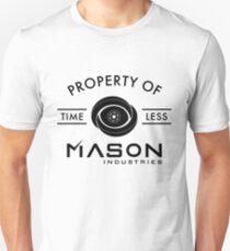 Timeless - Property Of Mason Industries T-Shirt