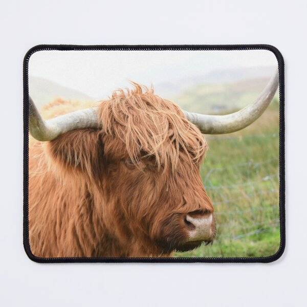 My, what big horns you have Mouse Pad