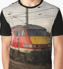 Virgin Trains East Coast 82229 at Peterborough Graphic T-Shirt