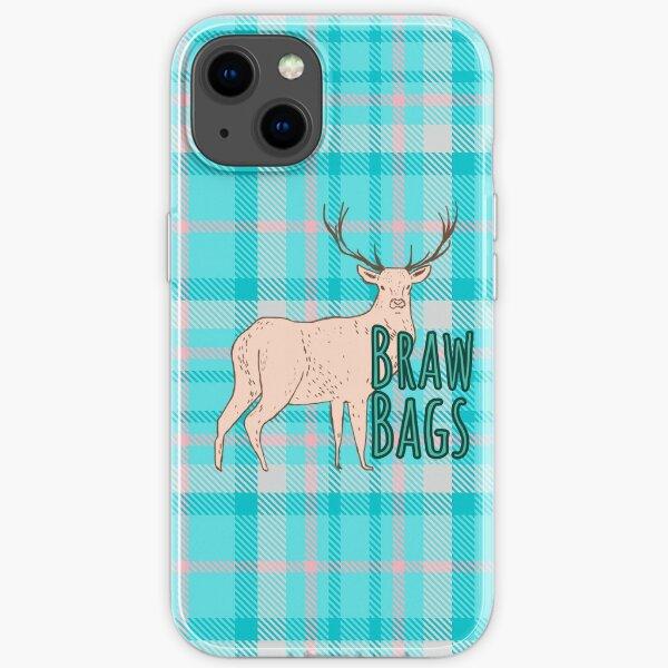 BrawBags Signature Tartan and Logo iPhone Soft Case