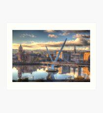Derry/ Londonderry Art Print