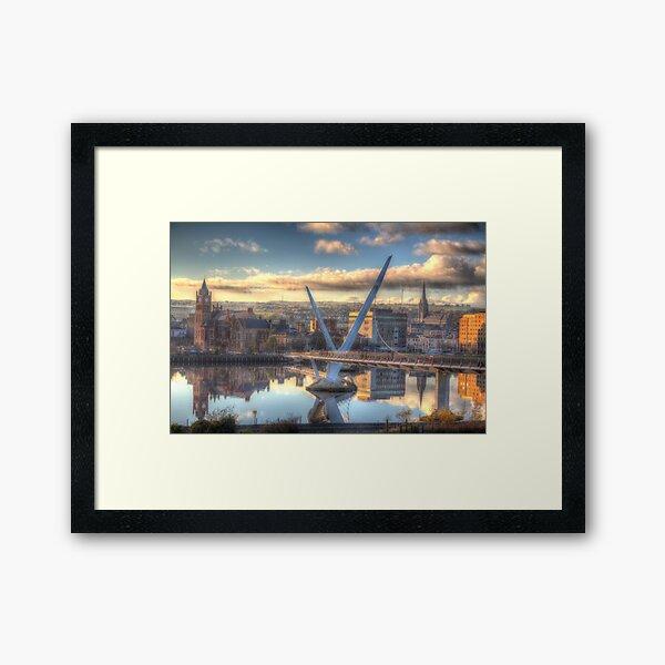 Derry/ Londonderry Framed Art Print