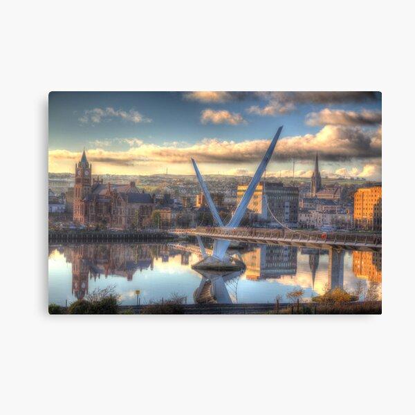 Derry/ Londonderry Canvas Print