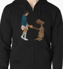 Eleven and ET  Zipped Hoodie