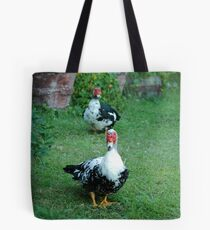 We are in a row. Now what? Tote Bag