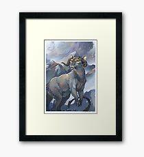 tauntaun - monarch of hoth Framed Print