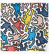 Haring Homage : Outback Sky Poster
