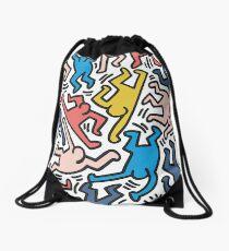 Haring Homage : Outback Sky Drawstring Bag