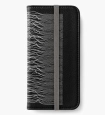 Joy Division HQ print iPhone Wallet/Case/Skin