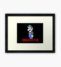 Weegee Origin of Evil Framed Print
