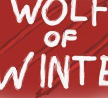 Biffy Clyro - Wolf of Winter Lyrics Sticker