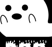 Boo Ghost Sticker