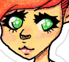 Princess Big Eyes Sticker