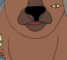 Tribal Bear Sticker