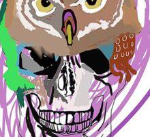 Skull Design all colours you choose!  Sticker