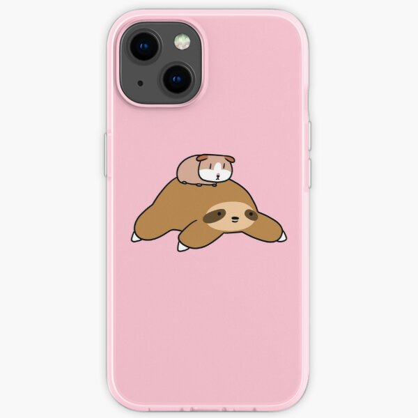 Sloth and Guinea Pig iPhone Soft Case