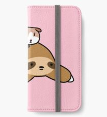 Sloth and Guinea Pig iPhone Wallet/Case/Skin
