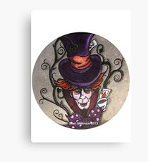 Hatter Canvas Print