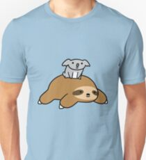 Koala and Sloth Unisex T-Shirt