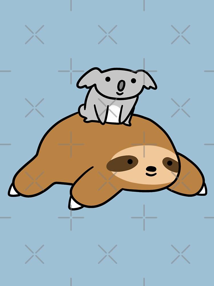 Koala y Sloth de SaradaBoru
