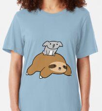 Koala and Sloth Slim Fit T-Shirt