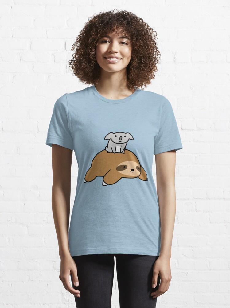 Vista alternativa de Camiseta esencial Koala y Sloth