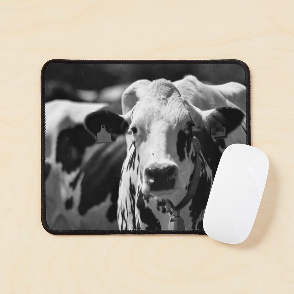Portrait of a cow Mouse Pad