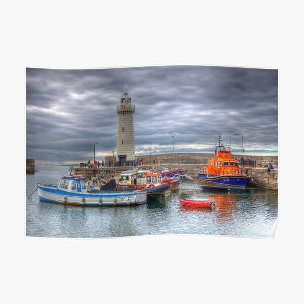 Donaghadee Lighthouse Poster