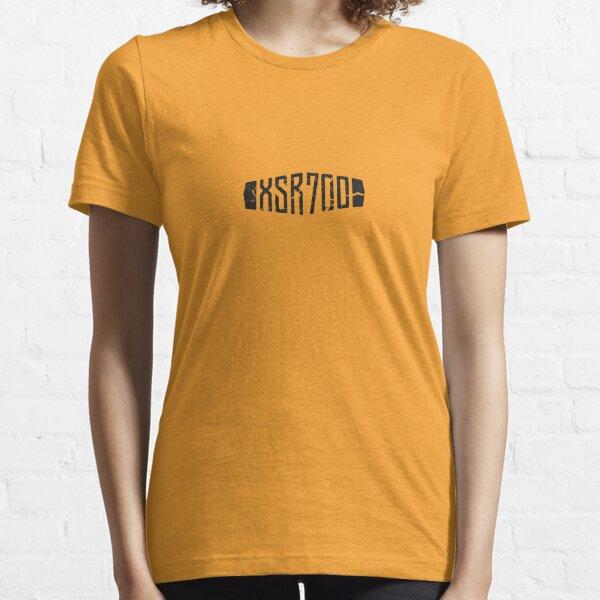 Yamaha XSR700 Yellow 60th Anniversary Distressed Logo Essential T-Shirt