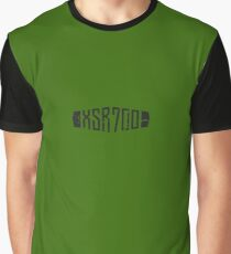 Yamaha XSR700 Forest Green Distressed Logo Graphic T-Shirt