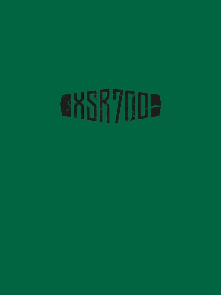 Yamaha XSR700 Forest Green Distressed Logo by RoughDraft