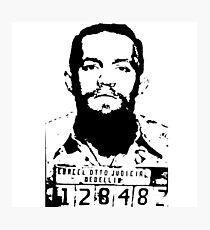Conor McGregor | Escobar MUGSHOT Photographic Print